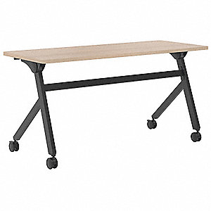 "Rectangle Multipurpose Table, Wheat, 59""W x 24"" Depth"