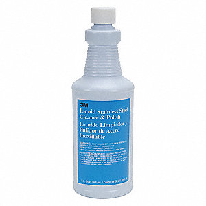 SS Cleaner and Polish,Bottle,32 oz.,PK6