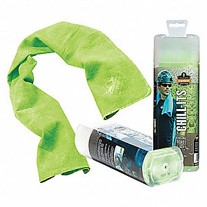 Evaporative Cooling Towel,Lime