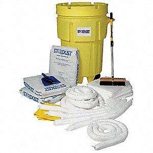 Oil Only / Petroleum Spill Kit, 95 gal. Drum