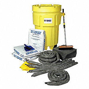 Universal / Maintenance Spill Kit, 95 gal. Drum