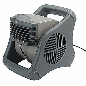 0.75/0.65/0.60 Amps Misting Blower, 302 CFM High, Gray