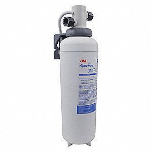 "3/8"" NPT Polypropylene Water Filter System, 2.5 gpm, 125 psi"