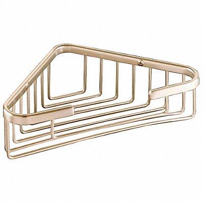 35Z872 - Corner Basket 8-1/4 In W SS Polished