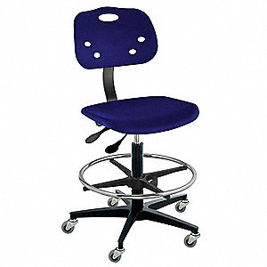 Ergonomic Chair,Navy,Poly