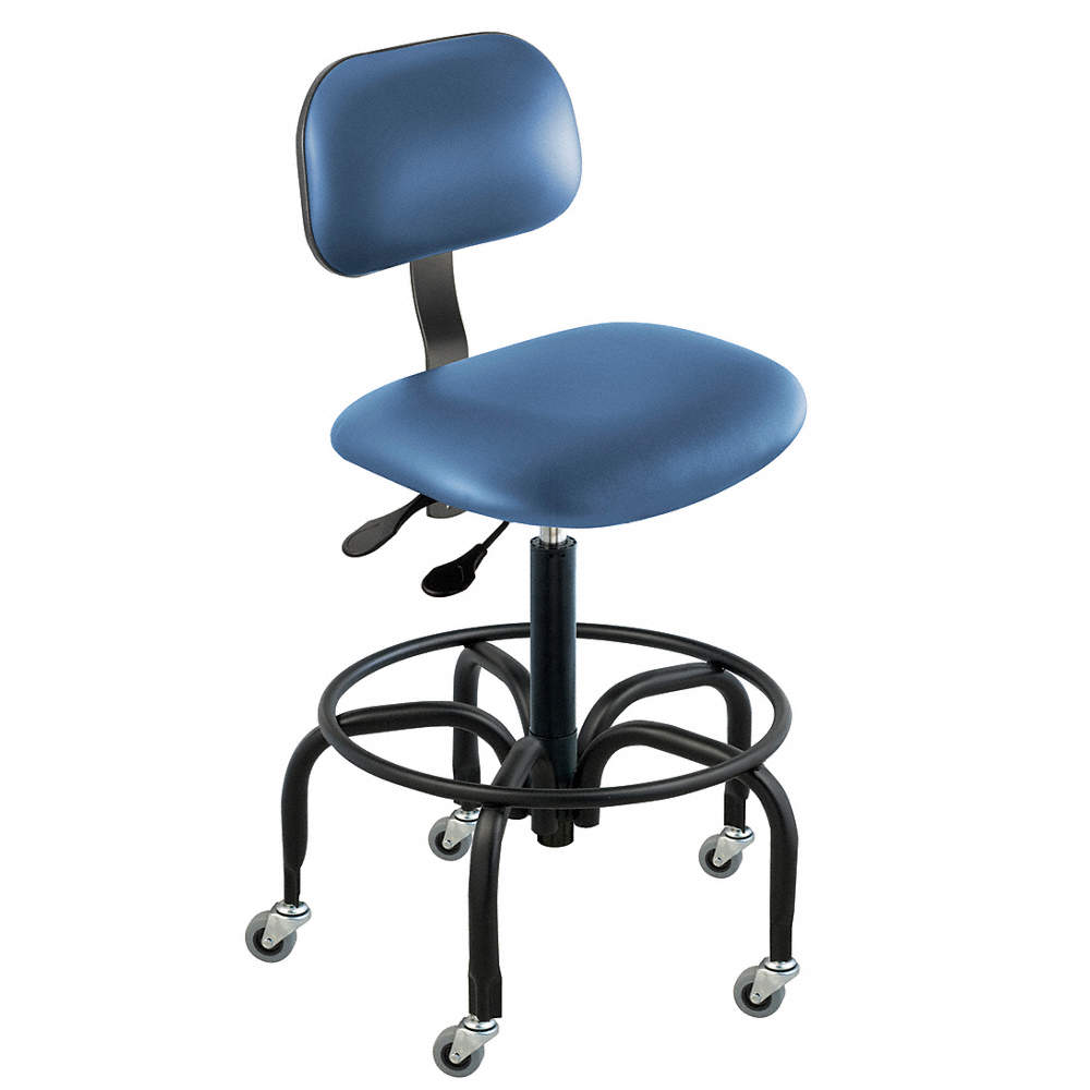 Incredible Vinyl Ergonomic Chair With 17 To 22 Seat Height Range And 300 Lb Weight Capacity Royal Theyellowbook Wood Chair Design Ideas Theyellowbookinfo