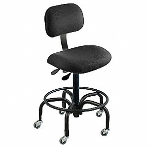 Ergonomic Chair,Black,Cloth