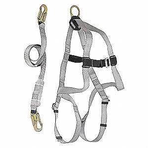 FALL KIT HARNESS/LANYARD/BAG