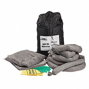 Universal Spill Kit, 10 gal. Bag