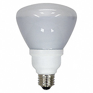 16.0 Watts  Screw-In CFL, R30, Medium Screw (E26), 750 Lumens 2700K Bulb Color Temp.