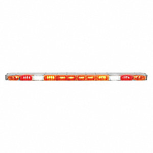 Lightbar,LED,Flat,110 LEDs,26 Heads