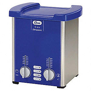 Ultrasonic Cleaner, S-Extra Power and 3 Sonic Modes Type, Tank Capacity: 0.5 gal.