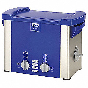 Ultrasonic Cleaner, S-Extra Power and 3 Sonic Modes Type, Tank Capacity: 0.75 gal.