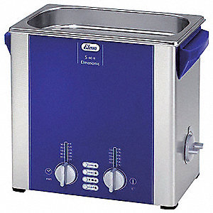 Ultrasonic Cleaner, S-Extra Power and 3 Sonic Modes Type, Tank Capacity: 1 gal.
