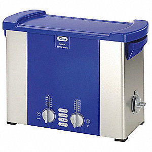 Ultrasonic Cleaner, S-Extra Power and 3 Sonic Modes Type, Tank Capacity: 1.5 gal.
