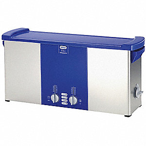 Ultrasonic Cleaner, S-Extra Power and 3 Sonic Modes Type, Tank Capacity: 2.4 gal.