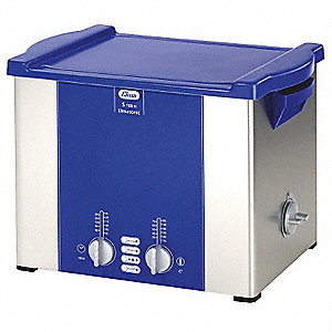 Ultrasonic Cleaner, S-Extra Power and 3 Sonic Modes Type, Tank Capacity: 2.5 gal.