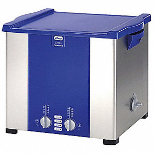 Ultrasonic Cleaner, S-Extra Power and 3 Sonic Modes Type, Tank Capacity: 5 gal.