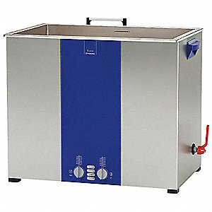Ultrasonic Cleaner, S-Extra Power and 3 Sonic Modes,240V 1-Phase Type, Tank Capacity: 11.9 gal.