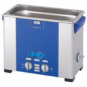 Ultrasonic Cleaner, P-Variable Power and Frequency, Versatile Type, Tank Capacity: 1.5 gal.