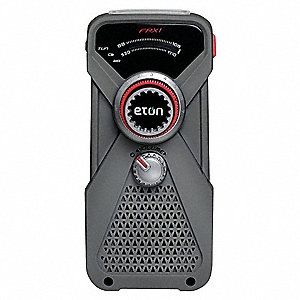 Handheld Multipurpose Weather Radio,Gray