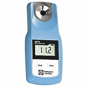 Handheld with Dual Scales Digital Refractometer