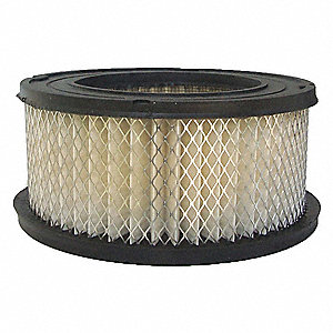 Air Filter,Element Only,3in.H.