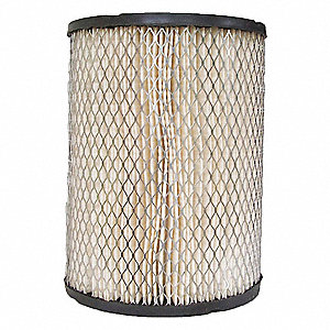 Air Filter,Element Only,6-3/4in.H.
