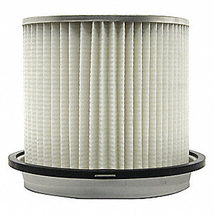 "Air Filter, Oval, 6-11/16"" Height, 5-13/16"" Outside Dia."