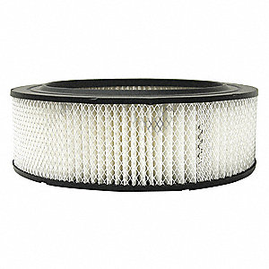 Air Filter,Element Only,4-1/4in.H.