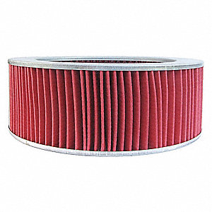 Air Filter,Element Only,3-3/8in.H.