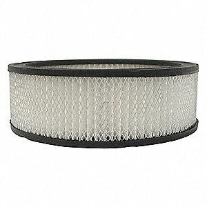 Air Filter,Element Only,3-1/2in.H.