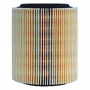 Air Filter,Element Only,6-1/2in.H.