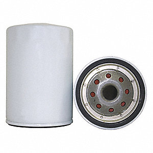 Spin-On Oil Filter, Outside Dia.: 3-45/64""