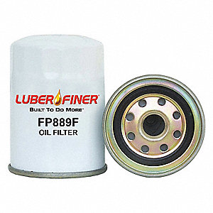 Fuel Filter, Spin-On Filter Design