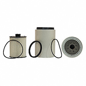 Fuel Filter,6-1/16in.H.4-3/8in.dia.