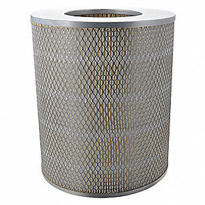"Air Filter, Round, 12"" Height, 10-1/4"" Outside Dia."