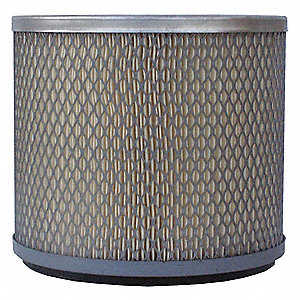 Air Filter,Axial,6-1/8in.H.