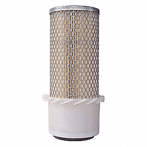 "Air Filter, Round, 10-3/8"" Height, 4"" Outside Dia."