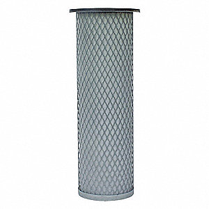 "Air Filter, Round, 11"" Height, 3-3/8"" Outside Dia."