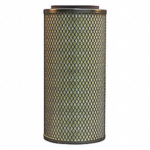 "Air Filter, Round, 13-3/4"" Height, 6-1/2"" Outside Dia."
