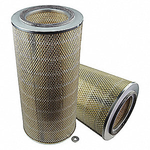 "Air Filter, Round, 22-3/4"" Height, 10-5/8"" Outside Dia."