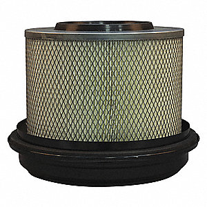 Air Filter,Element Only,9-15/16in.H.