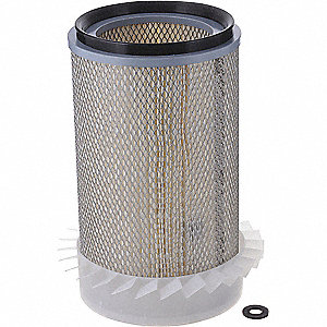 Air Filter,Element Only,13-3/8in.H.