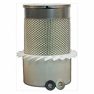 Air Filter,Axial,10-3/8in.H.