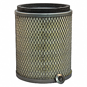 Air Filter,Axial,8-1/2in.H.