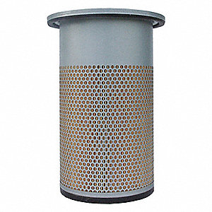 Air Filter,Element Only,13-1/2in.H.