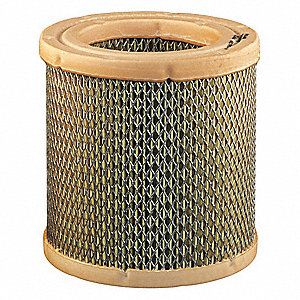 Air Filter,Element Only,4-9/16in.H.