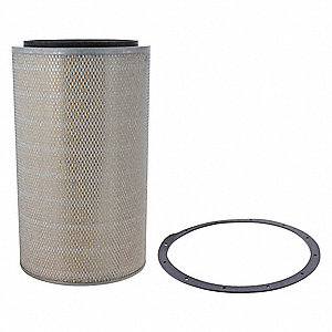 Air Filter,Element Only,23-15/16in.H.