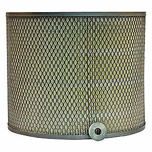 Air Filter,Axial,10in.H.